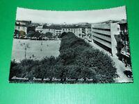 Cartolina Alessandria - Piazza della Libertà e Palazzo delle Poste 1955 ca