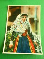 Cartolina Costumi Sardi - OSILO 1950
