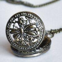Libélula Reloj de bolsillo con cadena Retro Vintage Mujer Collar