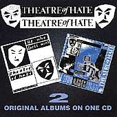 THEATRE OF HATE HE WHO DARES WINS 1 2 TWO ALBUMS  CD WESTWORLD ORIGINAL SIN II