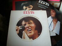 ELVIS PRESLEY vinyl record A LEGENDARY PERFORMER with a booklet