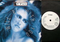 """T'PAU-I WILL BE WITH YOU-UK Siren 7"""" G/F Sleeve 1988-Excellent"""