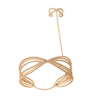 14kt Solid Gold 2.0ct Pave Diamond Designer Slave Bracelet Women's Gift Jewelry