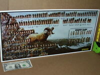 SPEER Ram - GUN SHOP SIGN / CHART Shows 161 Shells in 3-D - OLD SIGN > Dated1992