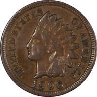 1906 Indian Head Cent Penny VF Very Fine