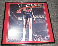 Wilt Chamberlain vs Celtics Framed 12X12 Poster Photo