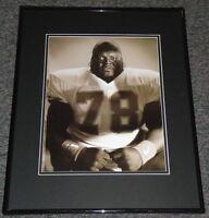 Mike Michael Taliferro Framed 11x14 Poster Photo TCU Bengals Denver Gold