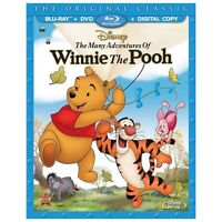 Disney's Many Adventures of Winnie the Pooh 2-Disc BluRay DVD DIGITAL NEW SEALED