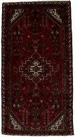 Semi Antique Tribal Hand Knotted Hamedan 4'7X9 Persian Rug Oriental Area Carpet