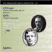 Cliffe: Violin Concerto / d'Erlanger: Violin Concerto op17, Poeme (Romantic Viol