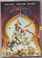 THE JEWEL OF THE NILE DVD MICHAEL DOUGLAS/KATHLEEN TURNER/DANNY DEVITO NTSC REG3