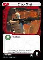 Star Wars Pocketmodel 3x Crack Shot #004