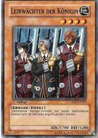 Yu-Gi-Oh 3x Leibwächter der Königin - - - CDIP