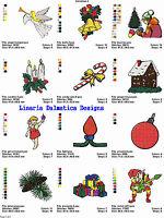 CHRISTMAS HOLIDAY V. 2 (4x4) MACHINE EMBROIDERY DESIGNS
