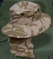 NEW Latest Army Issue Desert Camo Bush Hat Size 57cm