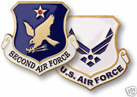 USAF  UNITED STATES SECOND AIR FORCE  CHALLENGE COIN