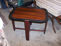 Mahogany & Rosewood Carved Coffee Table  (CT25)