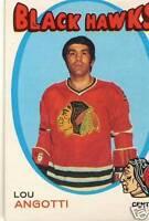 1971-72 LOU ANGOTTI O-PEE-CHEE card #212 71-72