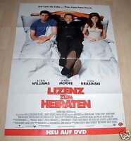 Filmposter A1 Lizenz zum Heiraten Neu Filmplakat Plakat