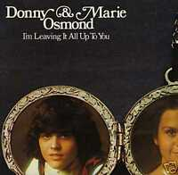 Donny & Marie Osmond- 'Leaving It', 1974 UK MGM LP. Ex!