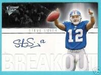 STEVE SMITH 2007 TOPPS PERFORMANCE RC AUTOGRAPH AUTO