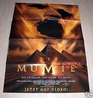 Filmposter A1 Neu Filmplakat Die Mumie - Brendan Fraser