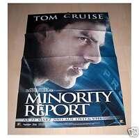 Filmposter A1 Neu Plakat Minority Report - Tom Cruise