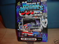 MUSCLE MACHINES 9-11-2001 TRIBUTE '69 CHEVELLE 01-101