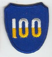 US Army 100th Infantry Division Shoulder Patch