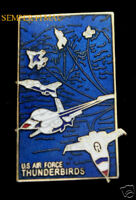 US AIR FORCE THUNDERBIRDS F-16 FALCON FORMATION PIN