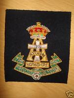 The Princess of Wales Own Regiment, Blazer Badge, Army, POWR, Military, New