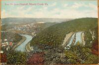 1911 Postcard: Bear Mountain/Flagstaff- Mauch Chunk, PA
