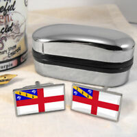 Herm Flag Mens Gift Cufflinks UK