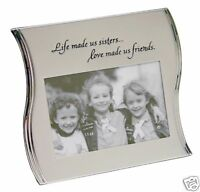Sister Friendship Photo Picture Frame with phrase 8343