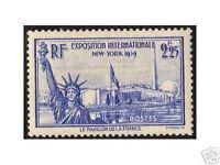 """FRANCE 1939 Y&T 426 """"EXPOSITION DE NEW YORK"""" NEUFxx TTB"""