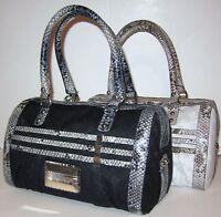 GUESS Classique Large Box Bag Purse Satchel Sac New