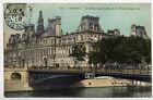 PARIS-L'Hotel de Ville et le Pont d'Arcole