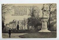 89*SENS-Le Square Jean Cousin et la Caisse d'Epargne