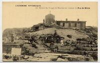 63*PUY DE DOME-Ruines du Temple de mercure au sommet du