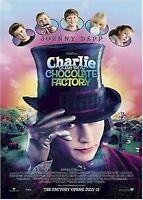 CHARLIE & CHOCOLATE FACTORY ~ REGULAR MOVIE POSTER Depp