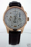 Jaeger LeCoultre Duometre and Chronograph 18kt RG Watch