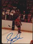 Pierre Larouche Montreal Canadiens Auto Signed 3x5 Photo