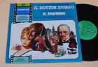 IL PADRINO-IL DOTTOR ZIVAGO:LP-ITALY COLONN SONORE EX