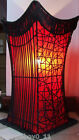 45CM RED ASIAN STYLE ELITE RATTAN LAMP - HJ0883A-A
