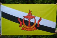 NEW 5 x 3 FOOT (150x90cm) BRUNEI FLAG
