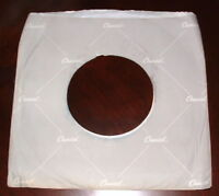 "CAPITOL RECORDS COMPANY logo PAPER SLEEVE gray/white Jacket Cover for 7"" Records"