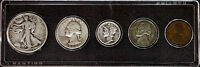 1944 USA 5 Piece Year Set, Birthday, Collectable