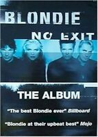 BLONDIE ~ NO EXIT PROMO POSTER Music Debbie Harry