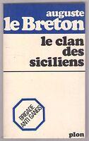 Auguste le Breton-LE CLAN DES SICILIENS - 1967