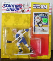 1994 Brett Hull Starting Lineup St. Louis Blues in pkg w/ SLU Score Hockey Card